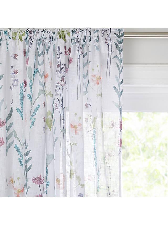 John Lewis Partners Longstock Slot, Sheer Patterned Curtains Uk