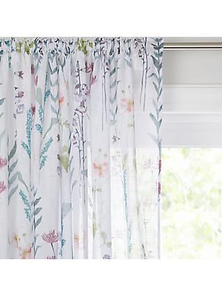 John Lewis & Partners Longstock Slot Top Sheer Panel