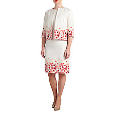 Buy Bruce by Bruce Oldfield Floral Placement Dress & Jacket co-ordinating range Online at johnlewis.com