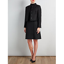Buy Bruce by Bruce Oldfield Black Wool Wrap Front Dress and Boxy Jacky set Online at johnlewis.com