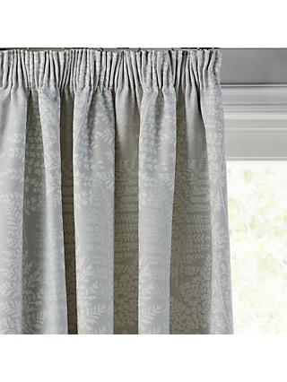 ef0a55761195 John Lewis & Partners Fern Pair Lined Pencil Pleat Curtains, ...