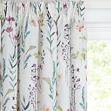 Buy John Lewis Longstock Lined Pencil Pleat Curtains, Multi Online at johnlewis.com