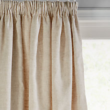 Buy John Lewis Leckford Border Lined Pencil Pleat Curtains Online at johnlewis.com
