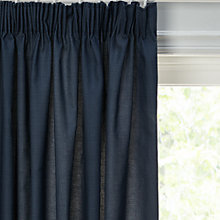 Buy John Lewis Croft Collection Poppy Heads Lined Pencil Pleat Curtains Online at johnlewis.com