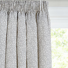 Buy John Lewis Arley Lined Pencil Pleat Curtains, Grey Online at johnlewis.com