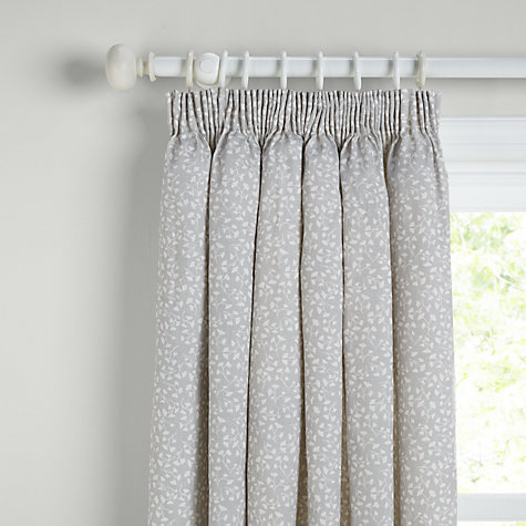 Buy John Lewis Arley Lined Pencil Pleat Curtains John Lewis - John lewis curtains grey