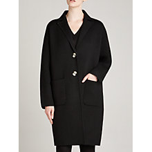 Buy Winser London Milano Coat, Black Online at johnlewis.com