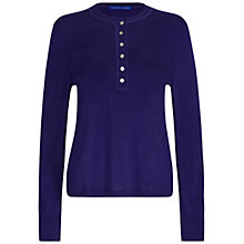 Buy Winser London Merino Buttoned Henley Jumper Online at johnlewis.com
