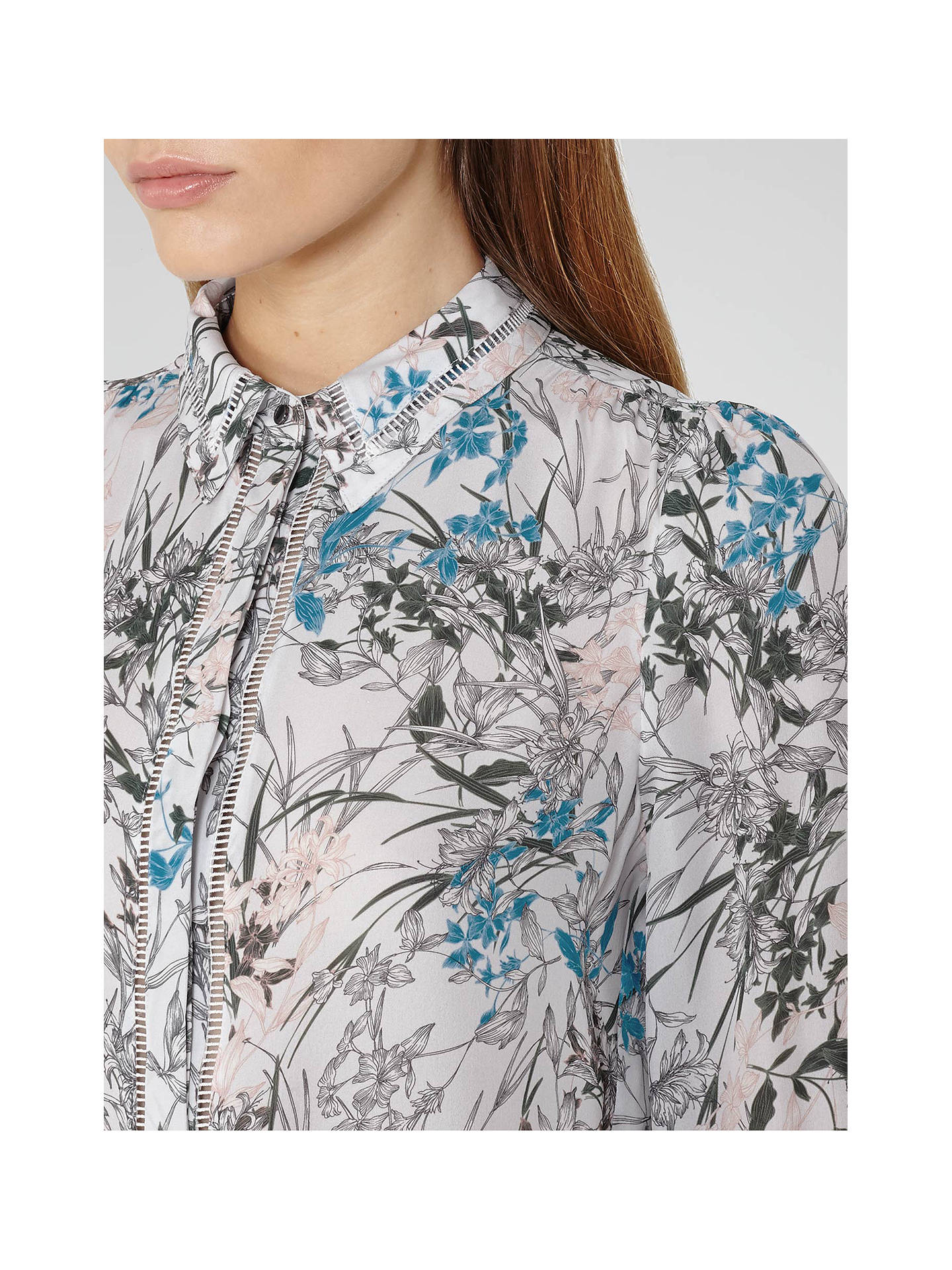 91a188f500cdd ... Buy Reiss Petra Printed Silk Blouse