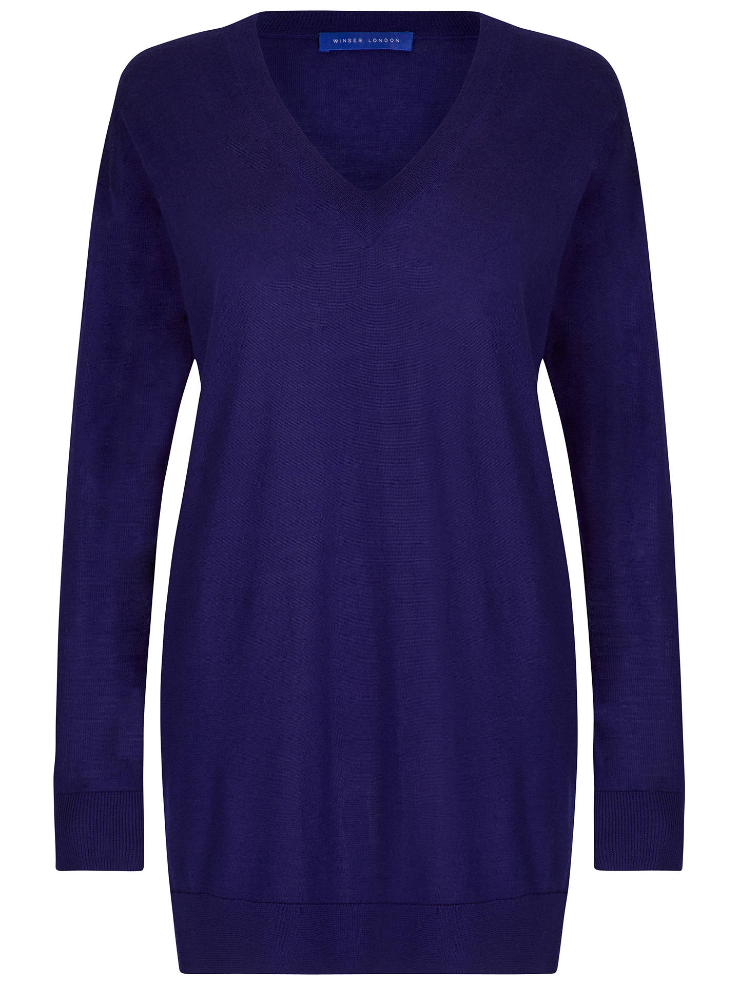 BuyWinser London Boyfriend Jumper, Moonlight, XS Online at johnlewis.com