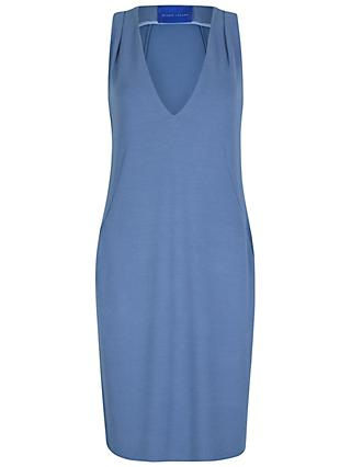 Winser London Crepe Jersey Shift Dress