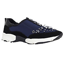 Buy Carvela Lamb Embellished Trainers Online at johnlewis.com