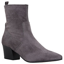 Buy Carvela Silky Pointed Toe Ankle Boots, Grey Online at johnlewis.com