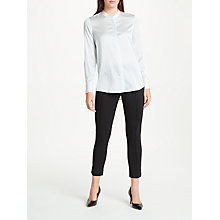 Buy Winser London Emma Miracle Pintuck Capri Trousers Online at johnlewis.com