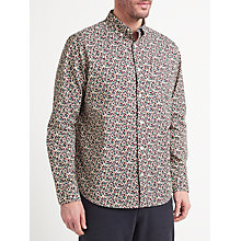Buy John Lewis Floral Print Shirt, Ecru Online at johnlewis.com