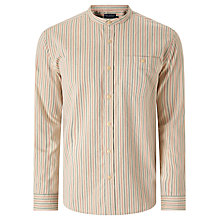 Buy JOHN LEWIS & Co. Massachusetts Stripe Grandad Shirt, Ecru Online at johnlewis.com