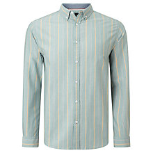 Buy John Lewis Preppy Stripe Oxford Shirt Online at johnlewis.com