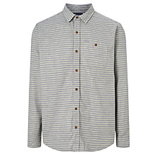 Buy JOHN LEWIS & Co. Horizontal Stripe Shirt, Navy/White Online at johnlewis.com