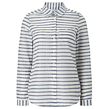 Buy John Lewis Horizontal Stripe Shirt Online at johnlewis.com