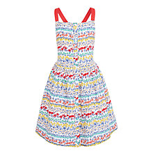 Buy John Lewis Girls' Ditsy Floral Dress, Multi Online at johnlewis.com