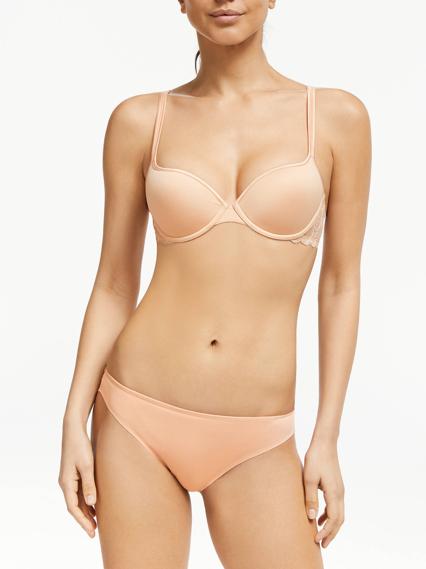 BuyJohn Lewis & Partners Eleanor T-Shirt Bra, Nude, 30D Online at johnlewis.com