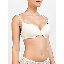 Buy John Lewis Eleanor T-Shirt Bra, Ivory Online at johnlewis.com
