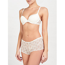 Buy John Lewis Eleanor Lace Shorts, Ivory Online at johnlewis.com