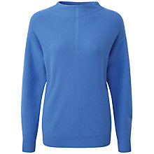 Buy Pure Collection Ella Slouch Sleeve Jumper, Nordic Blue Online at johnlewis.com