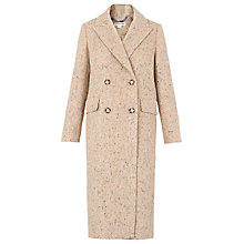 Buy Whistles Textured Double Breasted Coat, Multi Online at johnlewis.com
