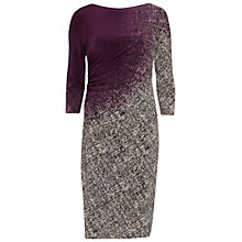 Buy Gina Bacconi Ombre Autumn Jersey Dress, Plum Online at johnlewis.com