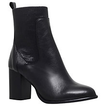 Buy Kurt Geiger Nettle Buckle Ankle Boots, Black Online at johnlewis.com