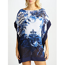 Buy Ted Baker Hellie Persian Blue Kaftan, Navy/Multi Online at johnlewis.com