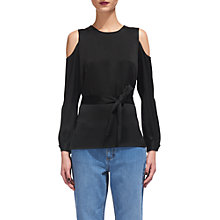 Buy Whistles Zoe Tunic, Black Online at johnlewis.com