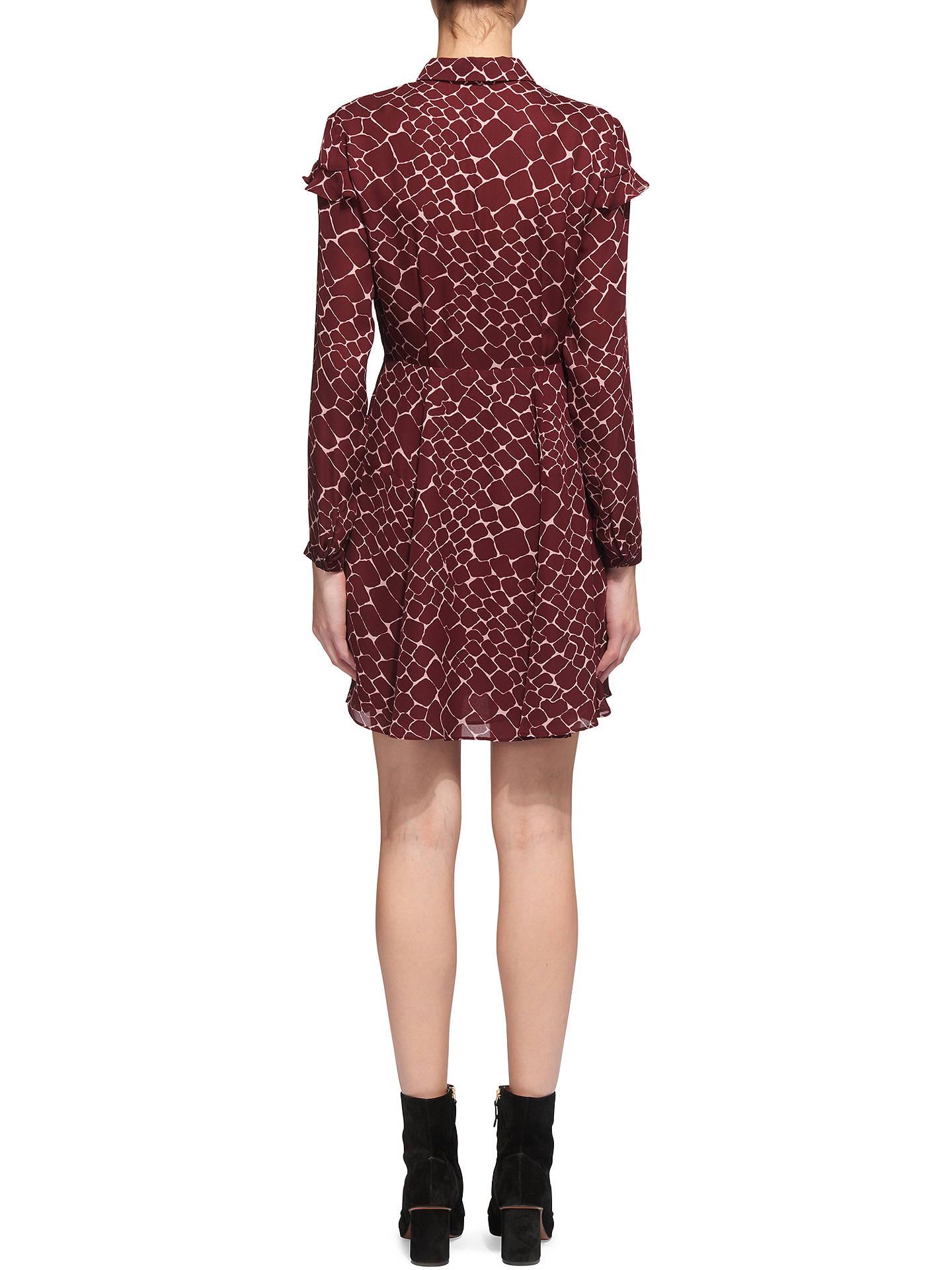 a5a4d92d27 ... BuyWhistles Giraffe Print Silk Dress