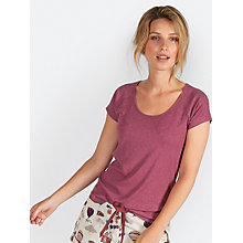 Buy Fat Face Avebury Rib T-Shirt Online at johnlewis.com