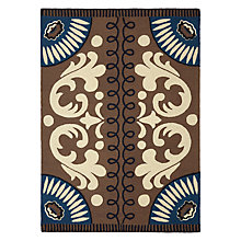 Buy GAN Goyescas Rug, Blue Online at johnlewis.com