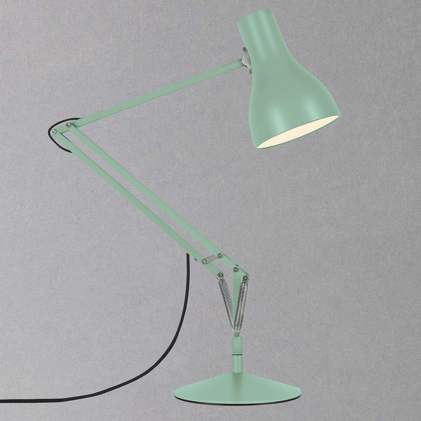 BuyAnglepoise Type 75 Margaret Howell Edition Desk Lamp, Seagrass Online At  Johnlewis.com ...
