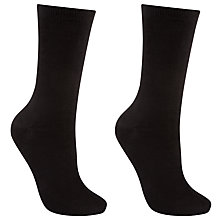 Buy John Lewis Egyptian Cotton Ankle Socks, Pack of 2 Online at johnlewis.com