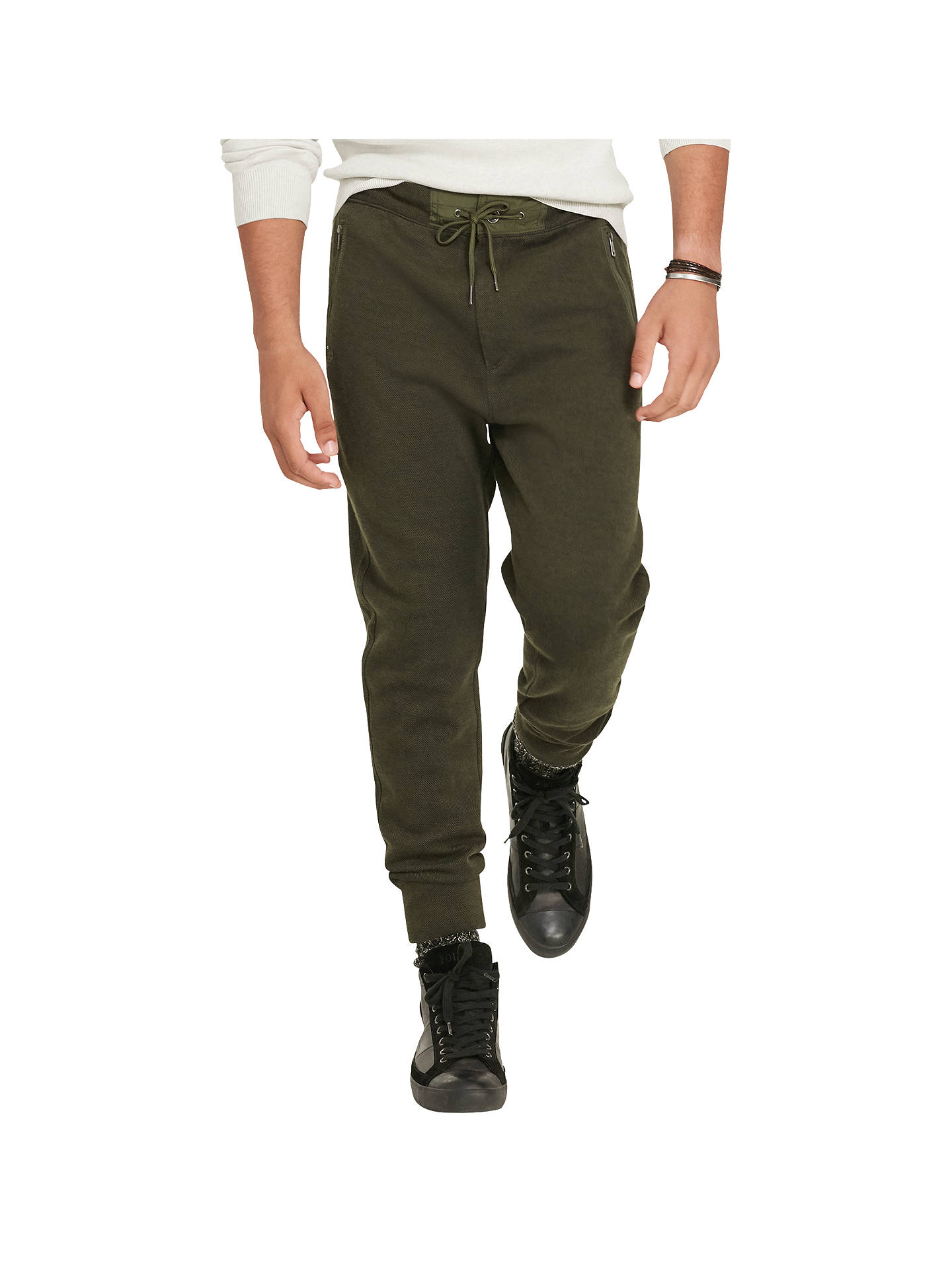7507e09ee75 Buy Polo Ralph Lauren Birdseye Cotton-Blend Jogging Bottoms