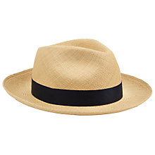 Buy Christys' Exclusive Classic Panama Hat, Natural Online at johnlewis.com