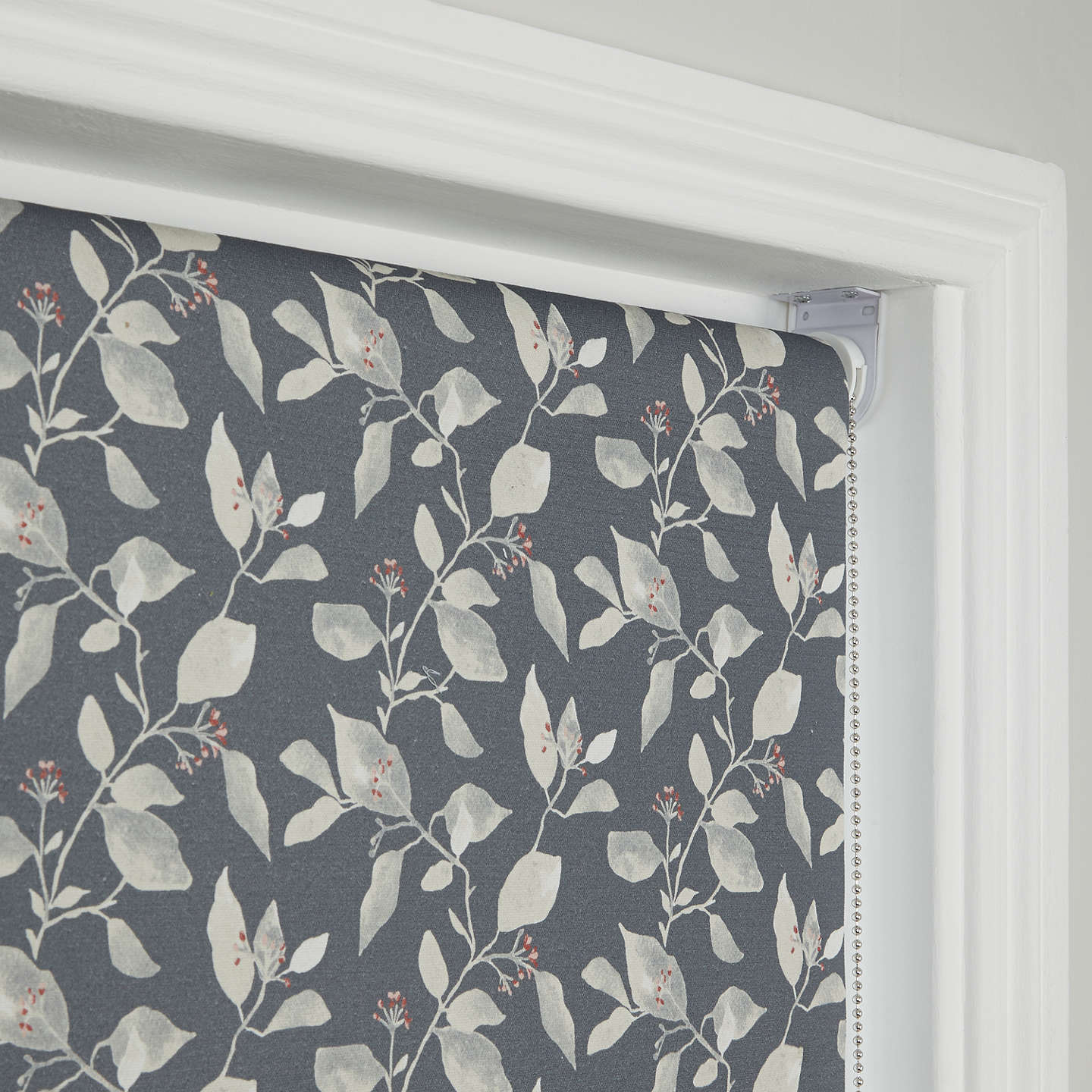 BuyJohn Lewis Country Viburnum Blackout Roller Blind, Thistle, W61cm Online at johnlewis.com