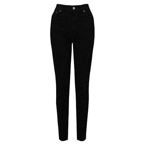 Buy East Straight Leg Jeans, Black Online at johnlewis.com