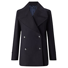 Buy Jigsaw Giant Rever Classic Peacoat, Navy Online at johnlewis.com