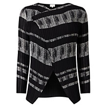 Buy East Mayfair Pleat Cover Up Cardigan, Black Online at johnlewis.com