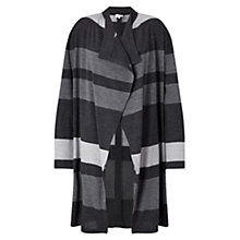 Buy East Stripe Edge To Edge Cardigan Online at johnlewis.com