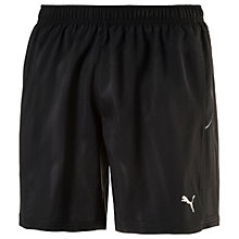 "Buy Puma Core Run 7"" Running Shorts, Black Online at johnlewis.com"