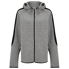 Buy Puma Evostripe SpaceKnit Full Zip Running Hoodie, Grey Online at johnlewis.com
