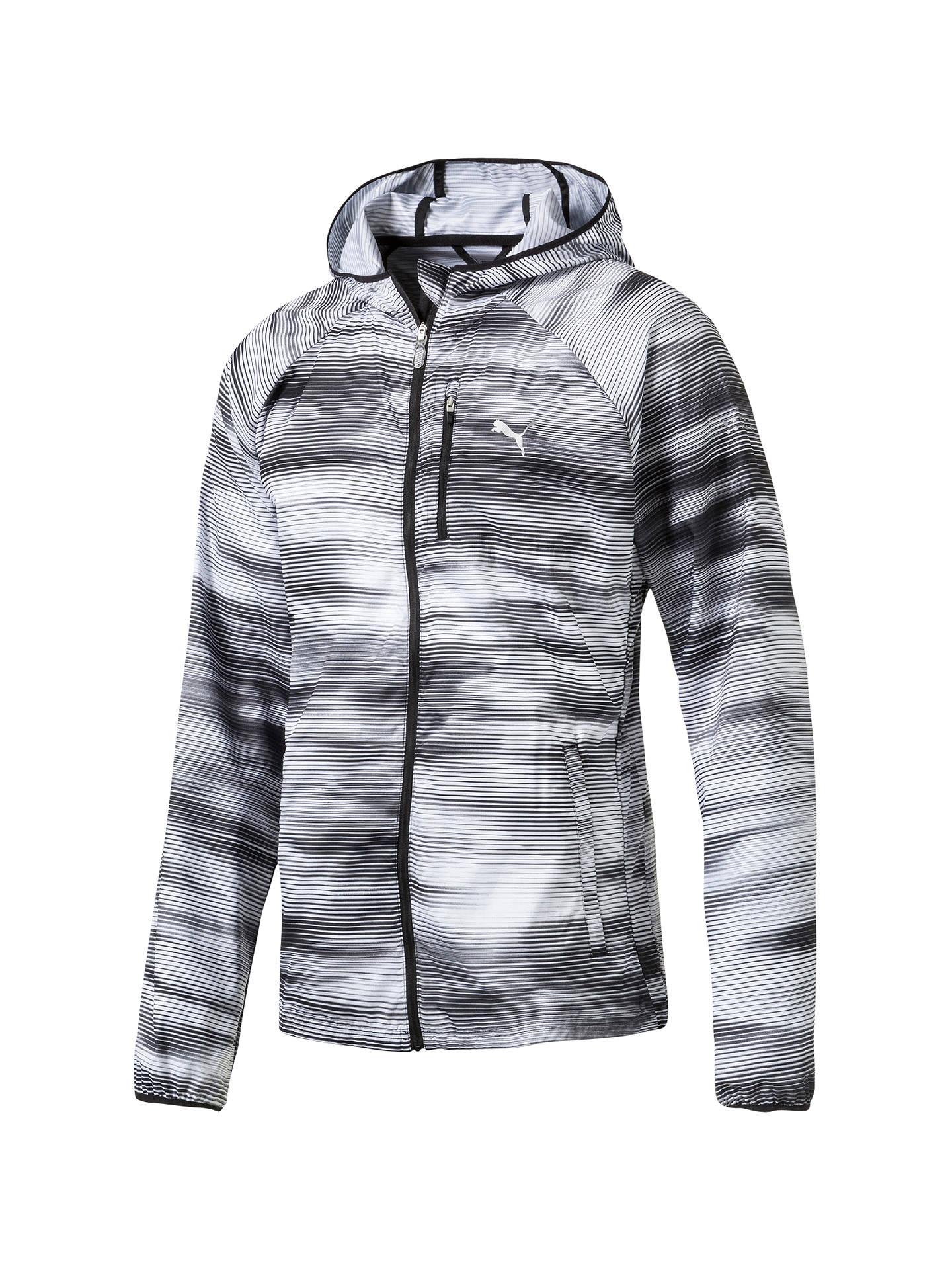 f3069ab3 Puma LastLap Graphic Men's Running Jacket, Grey at John Lewis & Partners