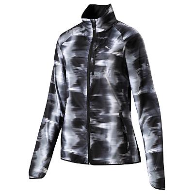 Puma LastLap Graphic Print Women's Running Jacket, Black
