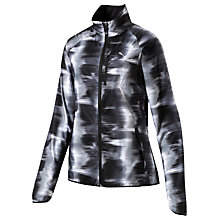 Buy Puma LastLap Graphic Print Women's Running Jacket, Black Online at johnlewis.com